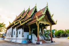 Ubosot en Wat Buak Krok Luang Imagenes de archivo