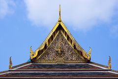 Ubosot rishi, Bangkok Stock Photography