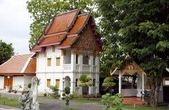 Ubosot at Wat Phumin ,Nan Thailand royalty free stock image