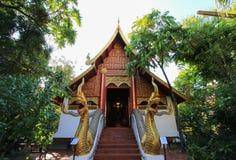 Ubosoth Of Wat Phra Kaew,Chiang Rai,Thailand Stock Photography