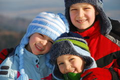 ubrania dziecka zima Obraz Stock