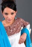 ubranie jest hindusa upiększone kobiety obrazy royalty free