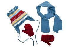 ubraniowa zima Zdjęcie Stock