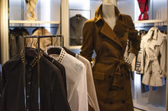 ubraniowe sklepowe kobiety Obraz Stock