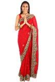 ubraniowej dziewczyny indyjscy tradycyjni potomstwa Obraz Royalty Free