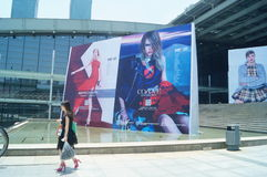 Ubraniowi reklamowi znaki fotografia royalty free