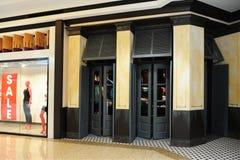 ubraniowy frontowy sklep Zdjęcia Royalty Free