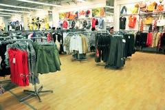 ubraniowy sklep Fotografia Stock