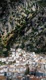Ubrique. Aerial view of Ubrique city one of the Pueblo Blancos (white villages) in Andalucia, Cadiz, Spain Stock Photo