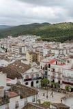 Ubrique stad   stock afbeelding