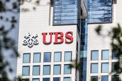 UBS bank Zdjęcia Royalty Free
