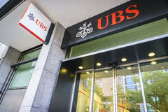 UBS bank obrazy stock