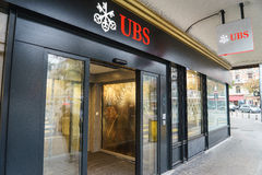 UBS bank Royalty Free Stock Photo
