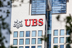 UBS Bank Royalty Free Stock Photos