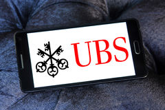 Ubs bank logo Stock Photos