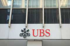UBS Logo Royalty Free Stock Photo