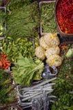 Ubud,巴厘岛公开市场产品 库存图片
