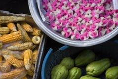Ubud,巴厘岛公开市场产品 免版税库存照片