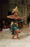 UBUD,巴厘岛,印度尼西亚- 2017年5月11日:巴厘语舞蹈家执行Ramayana 库存图片