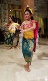 UBUD,巴厘岛,印度尼西亚- 2017年5月11日:巴厘语舞蹈家执行Ramayana 免版税库存图片