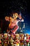 Nouvelle année de Balinese Image libre de droits