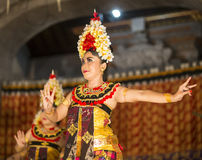 UBUD, BALI, INDONESIA - April, 07: Traditional Balinese dance. Stock Images