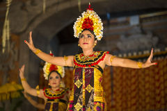 UBUD, BALI, INDONESIA - April, 07: Traditional Balinese dance. Stock Photos
