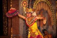 UBUD, BALI, INDONESIA - August, 07: Legong traditional Balinese Stock Photography