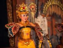 UBUD, BALI, INDONESIA - August, 07: Legong traditional Balinese Royalty Free Stock Photography