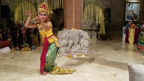 Ubud Bali Indonesia May 11 2017 Balinese Dancers Perform The