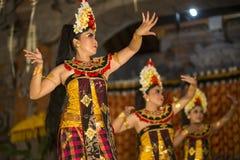 UBUD, BALI INDONEZJA, Kwiecień, -, 07: Tradycyjny balijczyka taniec Obraz Stock