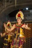 UBUD, BALI INDONEZJA, Kwiecień, -, 07: Tradycyjny balijczyka taniec Obraz Royalty Free