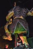 UBUD, BALI - 8. MÄRZ: Nicht identifizierte Leute während der Feier Stockfoto