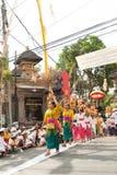 Ubud ceremoni, Bali Arkivbild