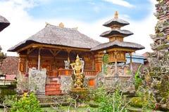 ubud för tempel för bali indonesia purasaraswati Royaltyfria Bilder