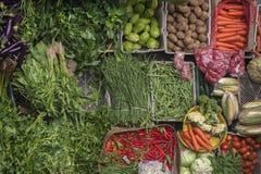Ubud, mercado público tradicional de Bali imagem de stock