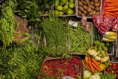 Ubud, mercado público tradicional de Bali foto de stock royalty free