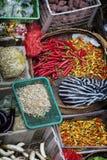 Ubud, mercato pubblico tradizionale di Bali Fotografia Stock Libera da Diritti