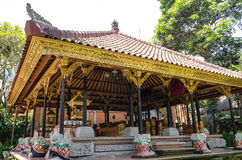 Ubud palace, Bali Stock Photos