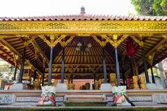 Ubud palace, Bali Royalty Free Stock Images