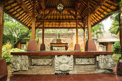 Ubud palace, Bali - Inside the Ubud palace, Bali, Indonesia Stock Photo