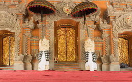 Ubud palace, Bali - Inside the Ubud palace, Bali, Indonesia Royalty Free Stock Images
