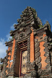 A Ubud Palace door Stock Photography