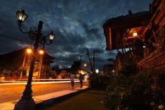 Ubud street Stock Photos