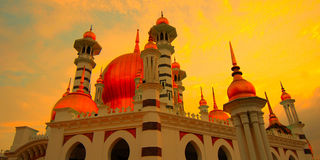 Ubudiah meczet, Kuala Kangsar, Perak, Malezja Obrazy Stock