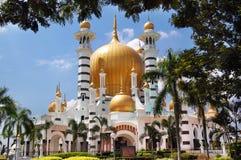 Ubudiah meczet przy Kuala Kangsar, Perak, Malaysia fotografia stock