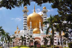 Ubudiah moské på Kuala Kangsar, Perak, Malaysia arkivbild