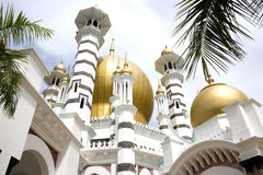 Ubudiah Mosque Royalty Free Stock Photography