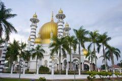 Ubudiah mosque. Located in perak, malaysia Royalty Free Stock Image