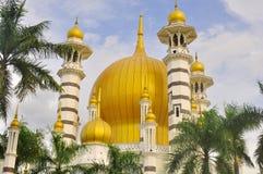 Ubudiah mosque. Built in 1913. Located at Kuala Kangsar, Perak, Malaysia Royalty Free Stock Photography